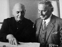 With Georg Solti