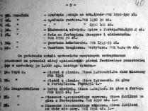 List of Panufnik's scores to be destroyed