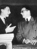 With Dmitry Shostakovich